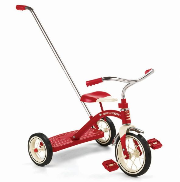 Radio Flyer Classic Red 10 Tricycle With Push Handle Souq Uae