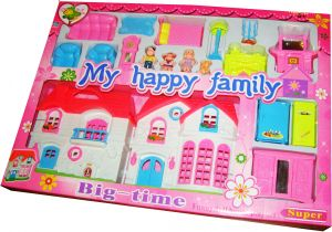 My Happy Family Doll House Small Souq Egypt