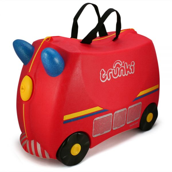 ae1503c2e50c Bronco Trunki Frank the Fire Engine Ride On Suitcase - TI0254-GB01 ...