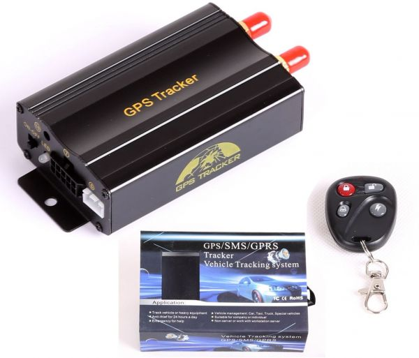 Car Vehicle Gps Tracker Tracking Device Alarm System With Remote
