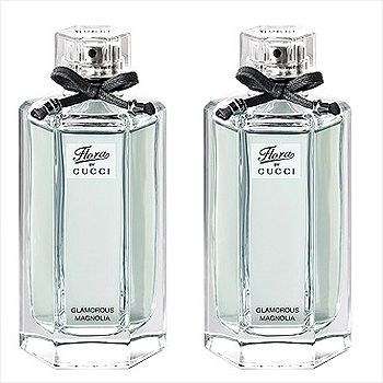 3132236d848 Set of 2 Gucci Flora Glamorous Magnolia for Women 100ml each
