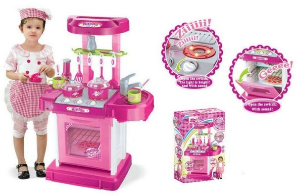 Big Kitchen Cook Set For Kids Souq Uae