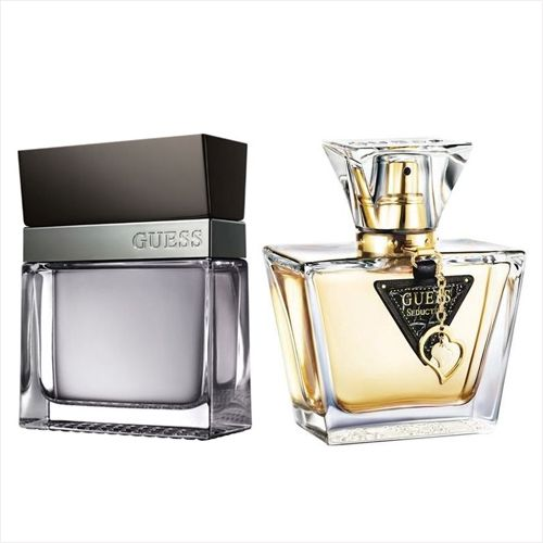 Guess Seductive Set Of 2 100ml Edt For Him 75 Ml For Her Souq Uae