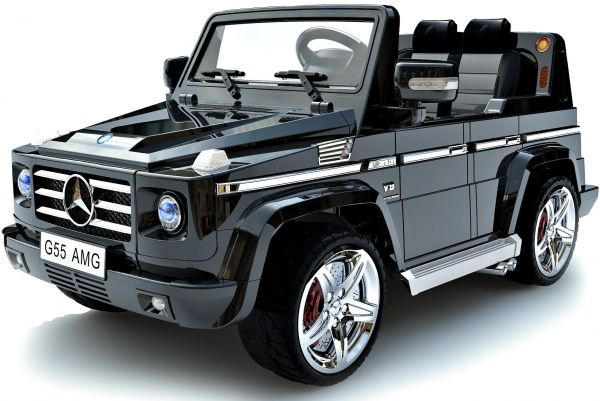 kids 12v electric ride on mercedes g55 amg ride on jeep black