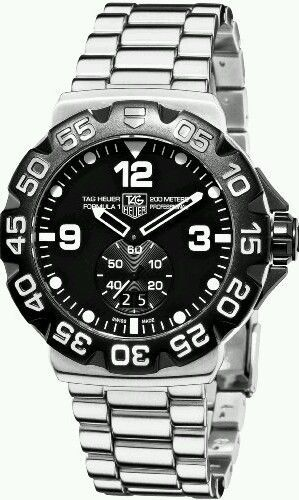 061d00dac64 Tag Heuer Formula 1 Watch for Men - Analog Stainless Steel Band ...