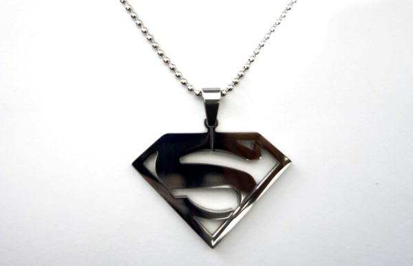 Buy superman pendant necklace valentine birthday wedding 3480 aed mozeypictures Gallery