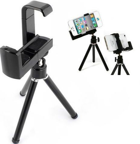 6cd7302f30a Tripod Camera Stand Holder for Mobile Phone