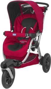 Chicco Activ3 Stroller (Red Wave, CH79370-93)