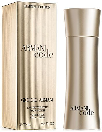 c33f9200808 Giorgio Armani Armani Code Limited Edition Pour Homme For Men -75ml ...