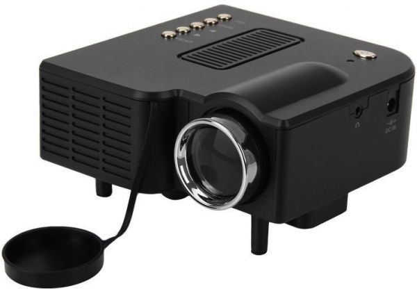 Souq | Portable Mini LED Projector Home Cinema Theater with AV VGA ...