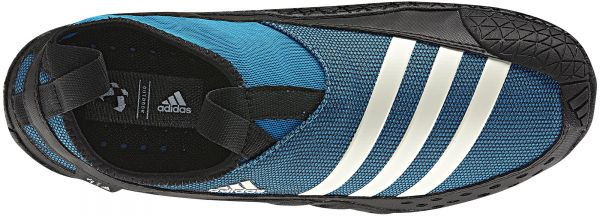 ece4c2135c9d Adidas V23077 Jawpaw II Shoes for Men (Blue and Black)