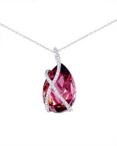 Swarovski casioswarovskiscarlet bijoux uae souq swarovski elements womens 18k white gold plated necklace swr 038 aloadofball Gallery