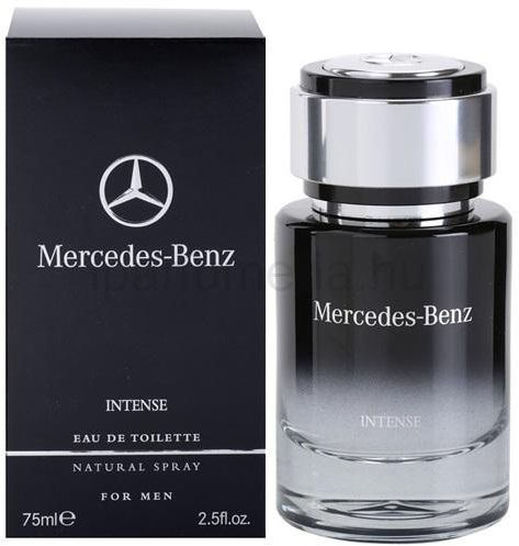 mercedes benz intense for men 75ml eau de toilette. Black Bedroom Furniture Sets. Home Design Ideas