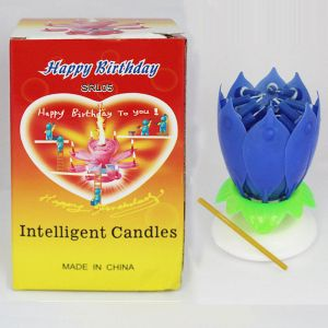 The Magical Rotating Flower Candle