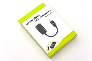 Mobile Phone OTG Connection Kit USB OTG Female Cable Samsung-Black