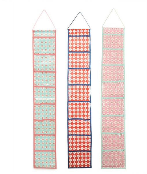 Daiso 3 Pieces Set Small Items See Though Hanging Organizer Ksa Souq