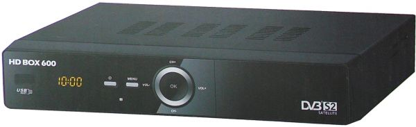 HD BOX 600 Digital HD Satellite Receiver for Automatic Satellite Programs  Installation