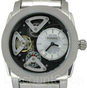 d8ccbbd06 ساعة فوسيل رجالي Fossil ME1120 Silver Stainless-Steel Analog Quartz Watch  with Silver Dial