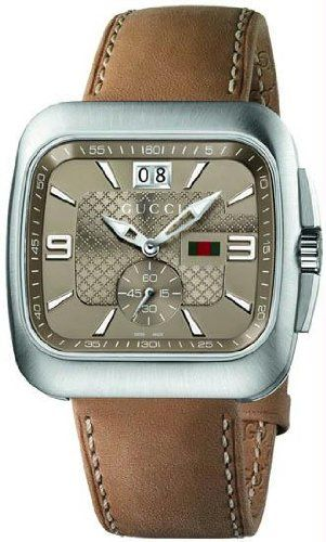 6f65e6e4d37 Gucci Swiss Made for Men - Analog Leather Band Watch - YA131312 ...