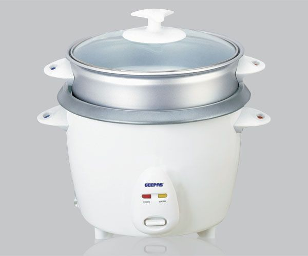 145148ff321 Geepas Rice Cooker with Non-stick Inner Pot Cool Touch Handles ...