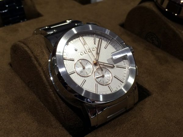 78570f90832 Gucci G-Chrono SWISS MADE Men s Chronograph 44MM Dial