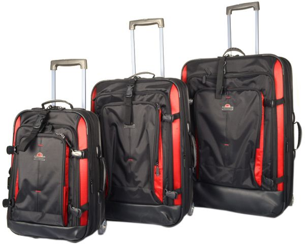 a931535c0d6b Eminent 3 Pcs. Semi Hard Fancy Eva Trolley Set