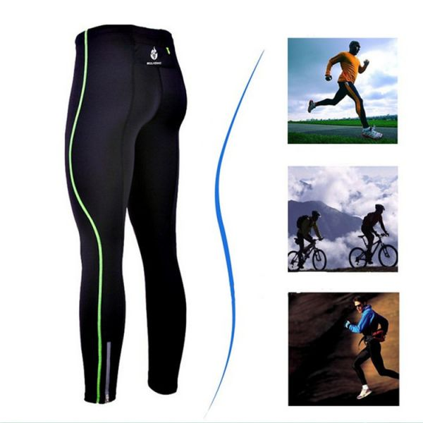 7c8af48f2c5 Mens Compression Tights Base Layer Skins Fitness Excercise Cycling Clothing  Bicycle Bike Pant Gear