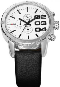 WEIDE WH3310 Sports Military Army Japan quartz Movement casual watch for  Men - White 70cd9dead96