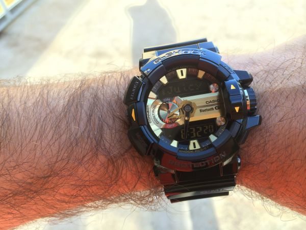 new concept 50a4e bc24c Casio G-Shock Bluetooth G'MIX GBA-400-1A9 For Men, Resin