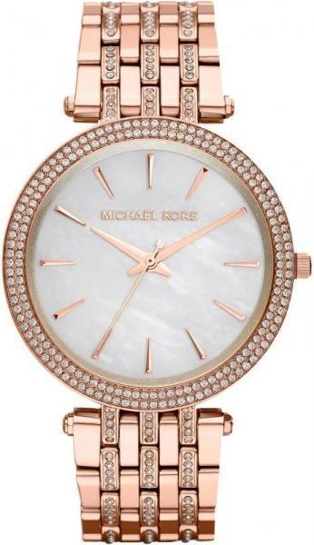 Michael Kors Darci Women s Mother of Pearl Dial Stainless Steel Band Watch  - MK3220 39e96c1637