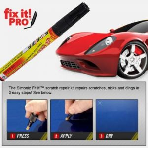 5 Scratch Remover Pen For Cars