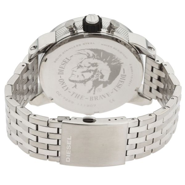 Diesel Little Daddy for Men - Analog Stainless Steel Band Watch ... a509d6ee564