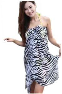 494c37cd6ce3f Women s Printing Chiffon Wraps Shawl Silk Beach Scarf of Swimsuit Cover-Up  SV00286 0 C