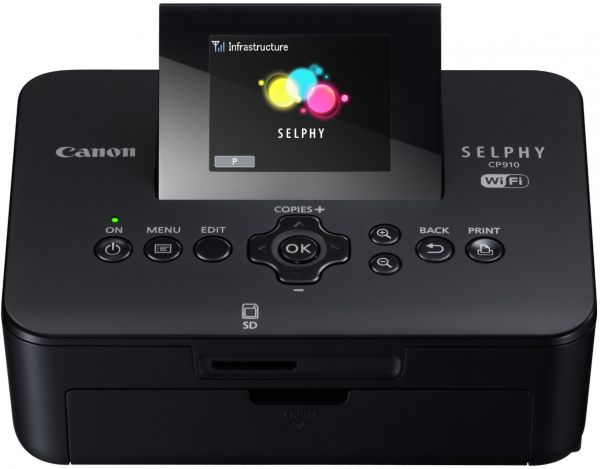 Canon Selphy Cp910 Wireless Compact Photo Printer Black Souq Uae