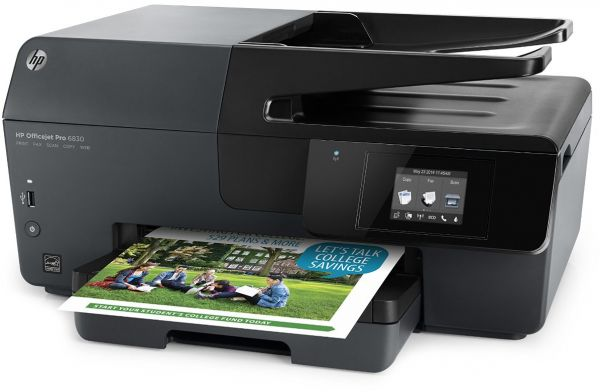 HP Officejet Pro 6830 e-All-in-One Printer Drivers Windows