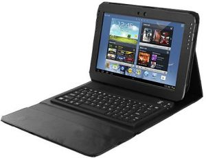 Leather case bluetooth Wireless Keyboard For 10.1 NOTE N8000