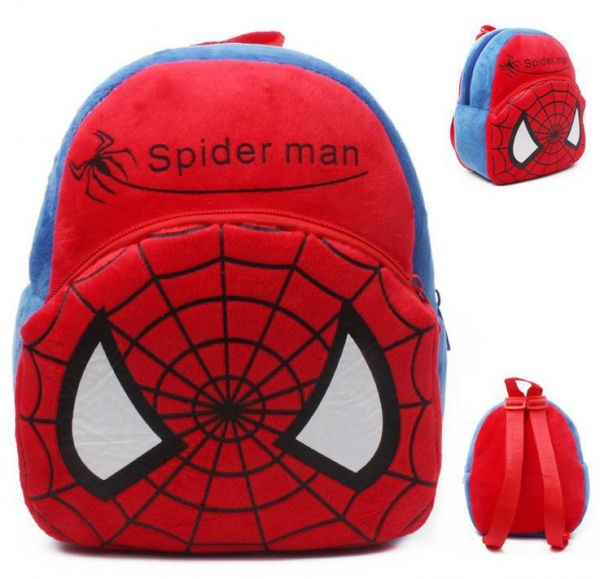 Baby Girls boys school bags Superman Spiderman Minnie Baby toy kids  backpack bag  51c4c2ee124e1