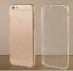 Silica gel iphone6 plus cover slim Ultra-thin transparent silicone case soft protective sleeve IY1
