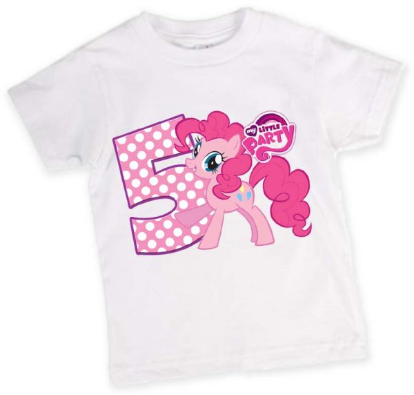 My Little Pony 5th Birthday T Shirt