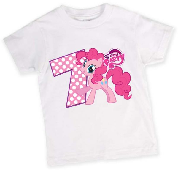 My Little Pony 7th Birthday T Shirt
