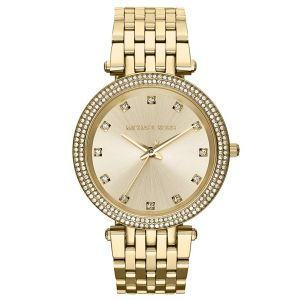 22be2d91aa38 Michael Kors Darci Watch for Women - Analog Stainless Steel Band - MK3216