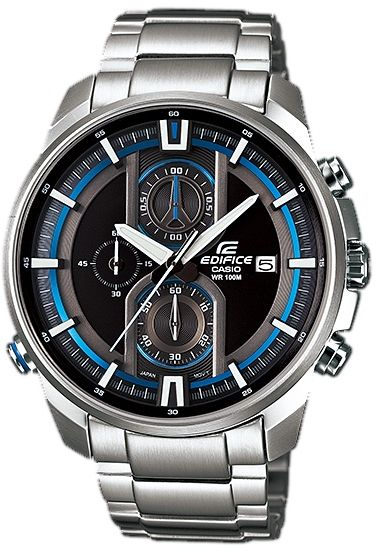 729a55954493 Casio Edifice for Men Chronograph EFR-533D-1A Stainless Steel Watch ...
