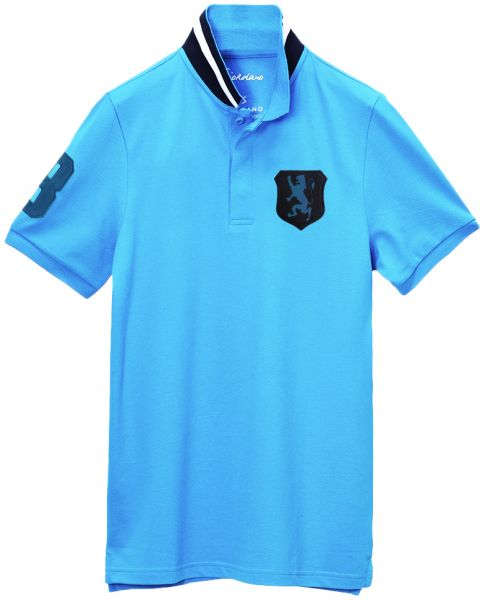 Giordano Men S Classic Fit Lion Badge Polo Shirt Souq Uae