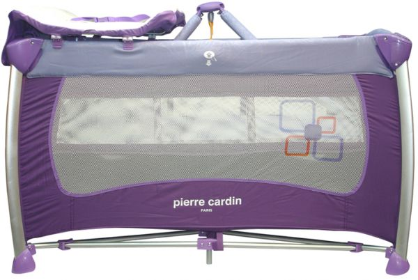 Souq Pierre Cardin Baby Bed And Play Pen Purple Ps136 Uae
