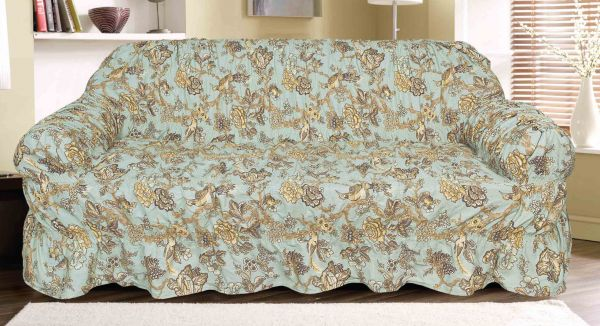 Knightsbridge Canvas Printed Bahama 3 Seater Sofa Cover