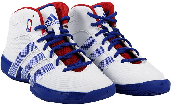 373a7392b94747 Adidas AD-Q33428 Rise Up NBA K Basketball Shoes for Boys - 4 UK ...