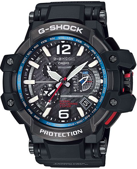 1c99318dc CASIO G-SHOCK Tough Solar Watch GPW-1000-1A for Men (Analog, GPS ...