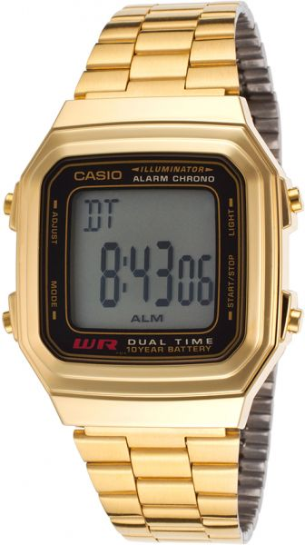 3eee98464afb Casio Classic Men s Digital Dial Stainless Steel Band Watch ...