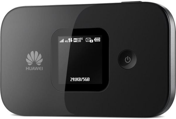 Huawei wireless Router, 150 Mbps, 3G, 4G Black - Huawei E5577