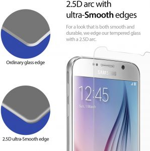 9H 0.3mm Tempered Glass Screen Protector for Samsung Galaxy S6 SM-G920
